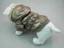 Manteau imperméable pour chien marron doré Chadog Diffusion (AU PALACE DU CHIEN)