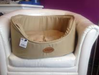 Panier pour chien beige Vivog (AU PALACE DU CHIEN)