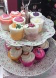 Cupcakes pour le bain (CHIC ET GLAM)