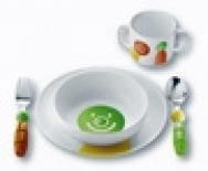 COFFRET DE 2 ASSIETTES + 1 MUG + 2 COUVERTS BILLO (K DE CUISINE)