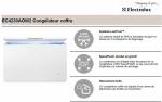 Congélateur ELECTROLUX = EC4230AOW2 = coffre 400 Litres class A+  Low Frost (SIRAM électroménager)